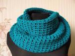 Как связать шарф снуд спицами для начинающих ребенку