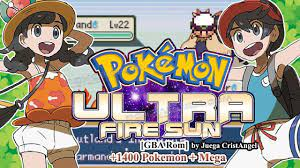 https://youtu.be/L63_FMPC7lk [GBA] Pokemon Ultra Fire Sun Final Completed -  with 1400 Mega Evolution - Pokemoner.com