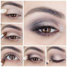 this five step process for achieving a smokey eye is super simple and there s no