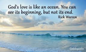 40 Amazing Quotes About God's Love Guideposts Best Quotes About The Ocean And Love