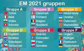 The 2021 european badminton championships is the 28th edition of the championships.this tournament is organized by the badminton europe with the local organizer ukrainian badminton federation and sanctioned by the bwf. Em 2021 Euro 2020 Ausgabe Em 2020 Zeitplan Rangliste Und Gruppen