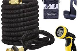 expandable garden hoses. Lifecolor 50\u2032 Expanding Hose Stretch Hosepipe \u2013 Strongest Expandable Garden With Double Latex Core Hoses S