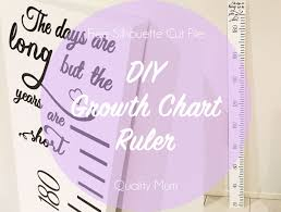 Diy Growth Chart Feature Quality Mum