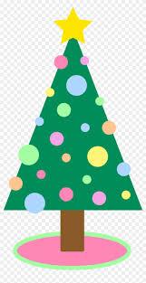 Cute Simple Christmas Tree Clipart Cute Christmas Tree Cartoon