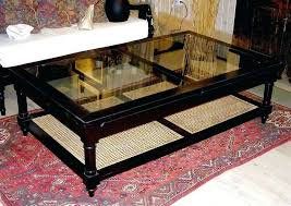 cane coffee table style wood glass and cane coffee table white cane coffee table with glass