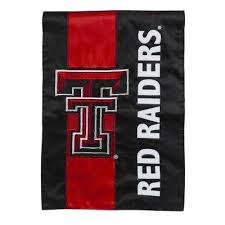 1 ft x 1 1 2 ft texas tech embellished garden flag