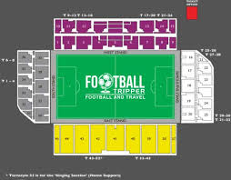 Secc Seating Chart Easter Road Stadium Hibernian Fc Football Tripper