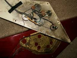 details & parts the 1967 1971 gibson flying v website Gibson Flying V Wiring Diagram the pickup cavities of a '69 walnut v notice the hand routed factory mods in the upper right hand corner the hand routes even appeared on the 1969 models wiring diagram for gibson flying v guitar