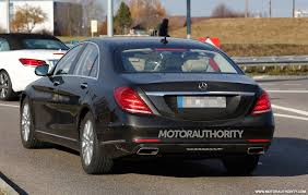 2018 mercedes benz s550. simple mercedes refreshed 2018 mercedes sclass spied2018mercedesbenzs inside mercedes benz s550 i