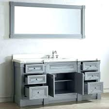 bathroom single vanity bathroom single vanity cabinets vanity cabinet with mirror inch gray finish single sink