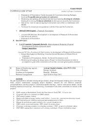 Architectural Project Manager Resume Unforgettable Administrative