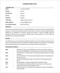 Nursing Resume Template Free Best Gallery Of Sample Nursing 28 Documents In Word Nurse Resume Sample