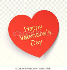 Valentines Day Vector Greeting Card Design