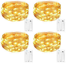 Decorative String Lights Amazon Amazon Com 4pcs String Lights Kcper 5m 50 Leds Fairy