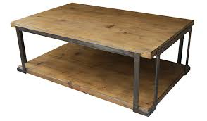 Metal Coffee Table Frame Coffee Table Reclaimed Wood And Steel Coffee Table Frame Style