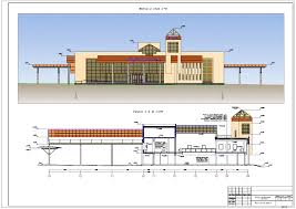 проект ПГС Здание автовокзала в г Витебск Дипломный проект ПГС Здание автовокзала в г Витебск