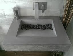 dark gray concrete ada compliant bathroom sink contemporary intended