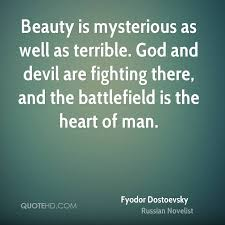 Mysterious Beauty Quotes Best of Fyodor Dostoevsky Beauty Quotes QuoteHD
