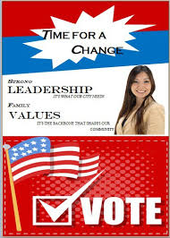 Free Political Flyer Templates Political Brochure Election Poster Gorgeous Free Sample Flyers