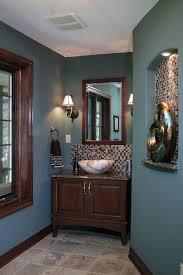 powder room lighting ideas. Powder Room Lighting Ideas Traditional With Furniture Vanity Slate Floor Teal Walls R
