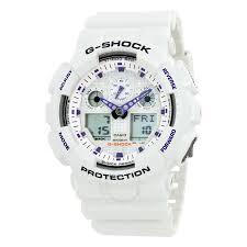 casio g shock analog digital white dial men s watch ga100a 7 g casio g shock analog digital white dial men s watch ga100a 7