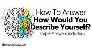 Describe Yourself Sample Essay Essay Describing Yourself Sample Surfingmadonna Org