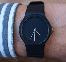 custom casio black matte unisex watch men s watch women 🔎zoom