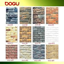 brick wall panels decorative fake tiles photo faux exposed brick look tile flooring unique faux wall