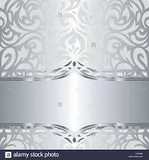 silver holiday wallpaper. Contemporary Wallpaper Shiny Silver Floral Decorative Holiday Vintage Invitation Wallpaper  Background Design  Stock Vector To Silver Holiday Wallpaper