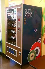 Vending Machine Project Impressive ArtVend A Vending Machine Full Of Art Projectskits So Jealous