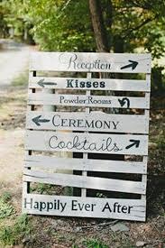 Pallet Wedding Sign Board