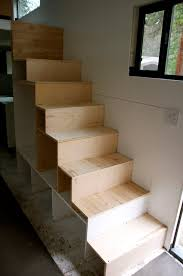 Add the smaller boxes, one by one, to complete the stairs.