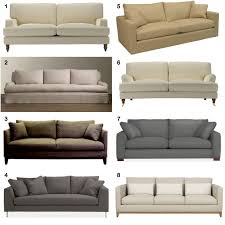 Kinds Of Couch With Color And Size Design ...