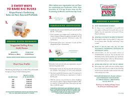 Krispy Kreme Fundraiser Profit Chart 2019 Krispy Kreme Fundraising Brochure