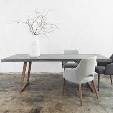 fantastic modern dining table images inspirations concrete scandi teak leg x grey contemporary 40 fantastic modern