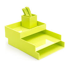 lime green office accessories. Lime Green Desktop Set. Cool Office SuppliesOffice Accessories O