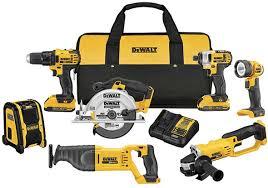 dewalt impact driver vs drill. dewalt-dck720d2-20v-max-7-tool-cordless-combo- dewalt impact driver vs drill