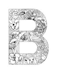 These free alphabet coloring pages are not only another great excuse to color, but they are also an awesome way to introduce letters to your each set of letters has a fun design for your little ones to color! Alphabet Coloring Pages Alphabet Letters To Print Animal Alphabet Letters Coloring Pages