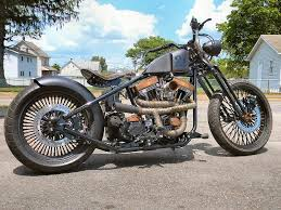 custom bobber motorcycle build the blitzkrieg bobber custom