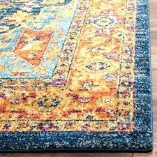 red and turquoise area rugs orange rug amazing yellow tu