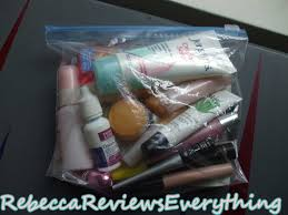 my liquids bag yes i really like to push things to limit but as long as the bag closes easily you re ok