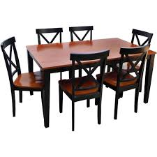 dining set walmart. full image for walmart dining table set with bench canada cross back