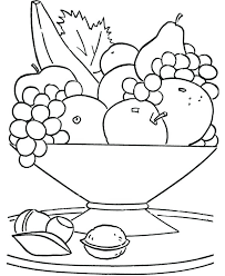 Food Coloring Pages Printable Healthy Eating Chart Coloring Pages
