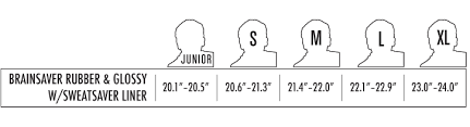 Triple 8 Brainsaver Size Chart
