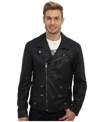 upc 803049089025 product image for lucky brand titan leather jacket navy men s coat