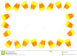 halloween candy clipart border. Delighful Clipart Candy Corn Frame And Halloween Clipart Border C