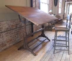 industrial antique furniture. this is a vintage antique industrial drafting desk perfect for writing or sketching purposes furniture h