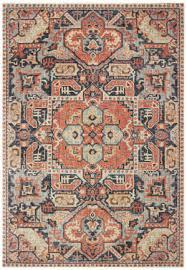 oriental weavers pandora 049s7 blue orange area rug