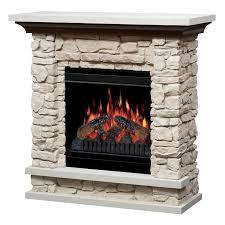 dimplex faux stone electric fireplace