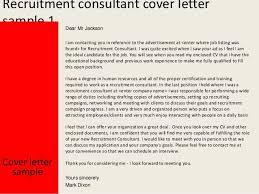 Sample Cover Letter For Recruitment Agency Sample Application For Employment Cover Letter For Resume